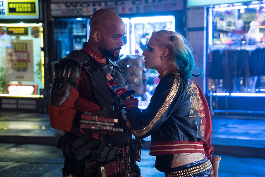 Her love with Deadshot